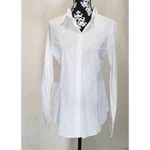 Talbots | White Button down Shirt